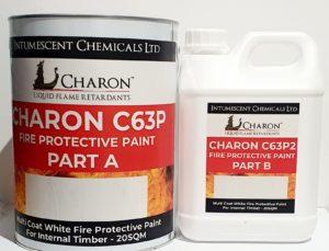 Charon C63P Decorative Flame Retardant Coating